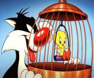 Sylvester und Tweety puzzle