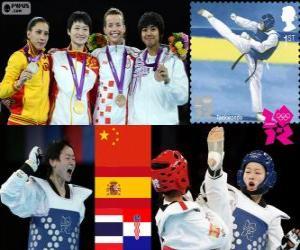 Taekwondo - 49kg Frauen London 2012 puzzle