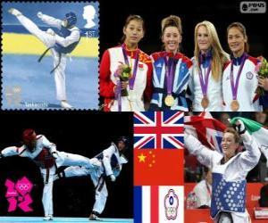 Taekwondo - 57kg Damen London 2012 puzzle