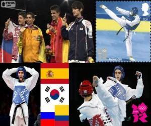 Taekwondo - 58kg Männer London 2012 puzzle