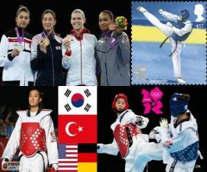 Taekwondo - 67kg Damen London 2012 puzzle