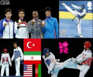Taekwondo - 68kg Männer London 2012 puzzle
