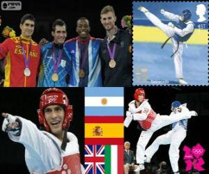 Taekwondo -80 kg Männer London 2012 puzzle