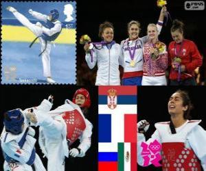 Taekwondo Frauens über 67kg London 2012 puzzle