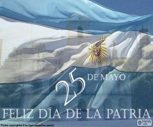 Tag der Heimat Argentinien puzzle