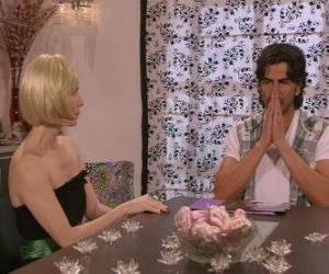 Talking Blanca und Leandro puzzle