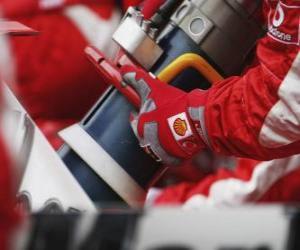 Tanken F1 puzzle
