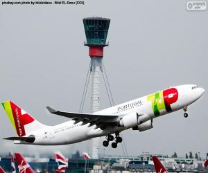 TAP Air Portugal puzzle