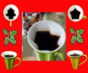 Tassen, Formen Weihnachten puzzle