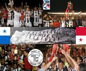 Taurus F. C Apertura-Meister 2010 (Panama) puzzle