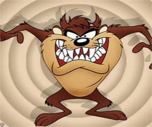 Taz, der tasmanische Teufel puzzle
