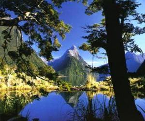 Te Wahipounamu - South Western Neuseeland. puzzle