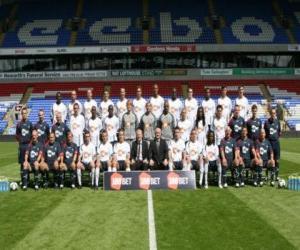 Team von Bolton Wanderers F.C. 2008-09 puzzle