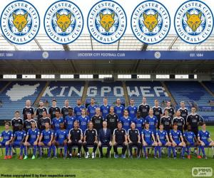 Team von Leicester City 2015-16 puzzle