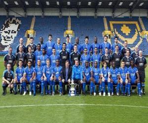 Team von Portsmouth F.C. 2008-09 puzzle