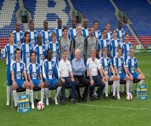 Team von Wigan Athletic F.C. puzzle