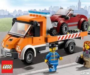 Technische Hilfe von Lego City puzzle