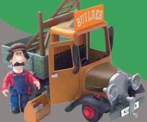 Ted Glen ist der Handwerker des Dorfes Greendale puzzle
