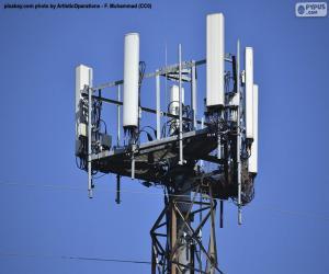 Telekommunikationsturm 5g puzzle