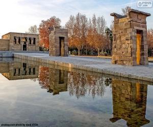 Tempel von Debod, Madrid puzzle