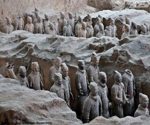 Terrakotta Armee, China puzzle