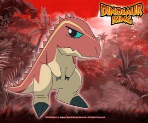 Terry, die im Besitz von Ursula von Alpha Gang tyrannosaurus puzzle