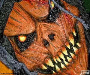 Teufel Maske puzzle