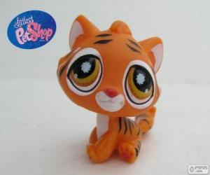 Tiger aus Littlest PetShop puzzle
