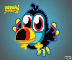Tiki ist ein Moshlings, Toucan. Birdies Satz puzzle