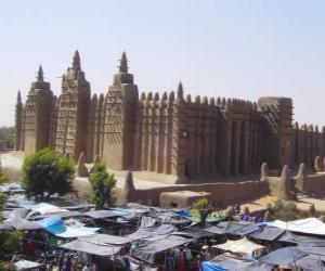 Timbuktu, Mali puzzle