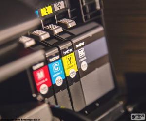 Tinten für Drucker puzzle