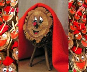 Tió de Nadal (Weihnachten lied), ein Katalanisch, Okzitanisch und der Alto Aragon Tradition puzzle