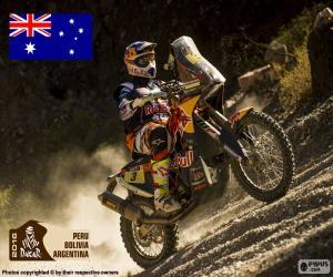 Toby Price, Dakar-2016 puzzle