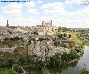 Toledo, Spanien puzzle