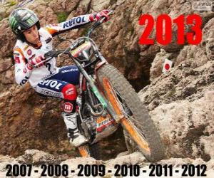 Toni Bou 2013 Trial Weltmeister puzzle