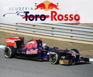 Toro Rosso STR7 - 2012 - puzzle