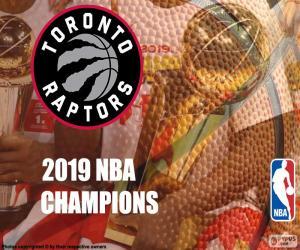 Toronto Raptors, 2019 NBA-Meister puzzle