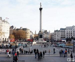 Trafalgar Square in London puzzle