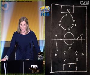 Trainer des Jahres - Frauen FIFA 2015 puzzle