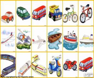Transportmittel puzzle