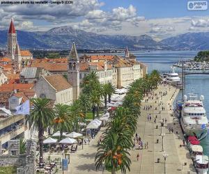 Trogir, Kroatien puzzle