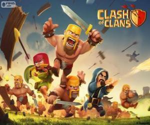 Truppen, Clash of Clans puzzle