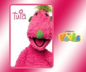 Tula lebt in der Hoobmobile mit Iver und Groove puzzle