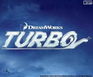Turbo, das Film-logo puzzle