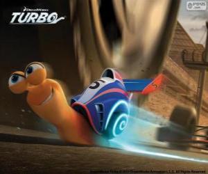 Turbo, die schnellste Schnecke der Welt puzzle
