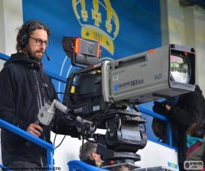 TV-Kameramann puzzle