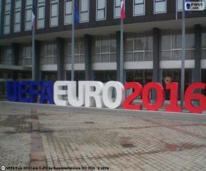 UEFA Euro 2016 puzzle