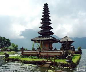 Ulun Danu Batur Tempel puzzle