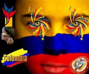 Unabhängigkeitstag von Kolumbien erinnert an den 20. Juli 1810 puzzle