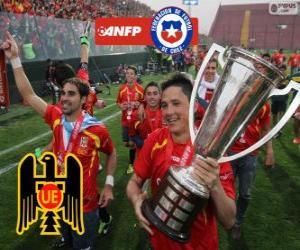 Unión Española, Meister der Torneo de Transición 2013, Chile puzzle